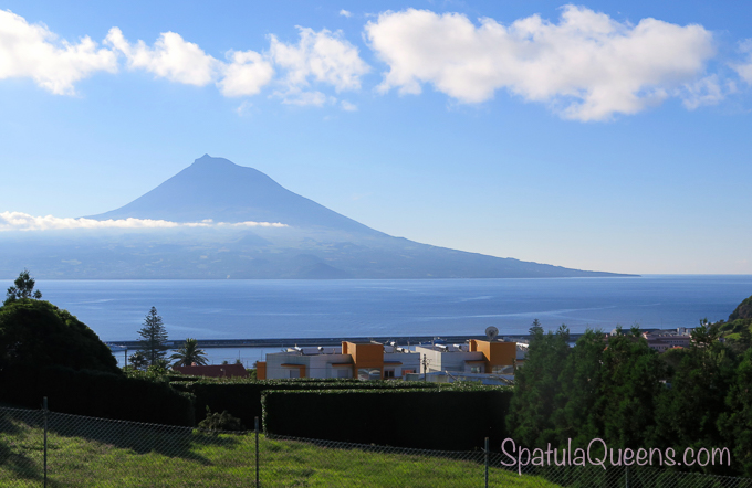 Road Trip: Azores - A view of Pico Island from Faial
