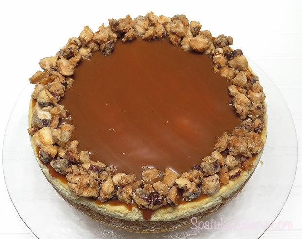 Candied Brazil Nuts Topping in Brazil Nut Cheesecake Recipe