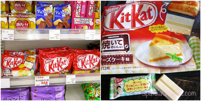 Cheesecake Kit Kats on Hachijojima, Japan