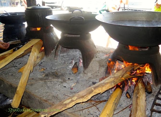 Clay stove, kalan a.k.a., sug-ang