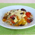 Cleaning Out the Fridge - Feta, Tomato and Couscous - Yummy quick recipe for leftover feta