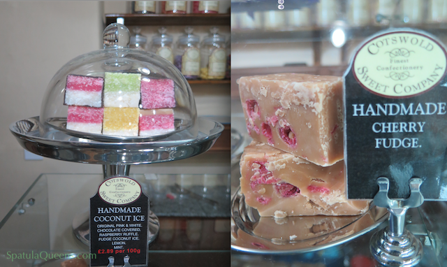 Cotswold Sweet Company - Fudge and coconut ice