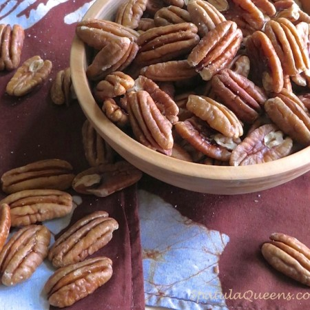 Tasty, Crunchy Toasted Pecans