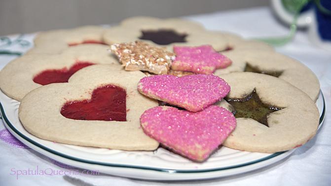Fancy Cookie platter