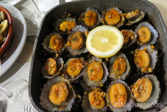 Road Trip: Azores - Grilled Lapas a.k.a. Limpets Faial, Azores