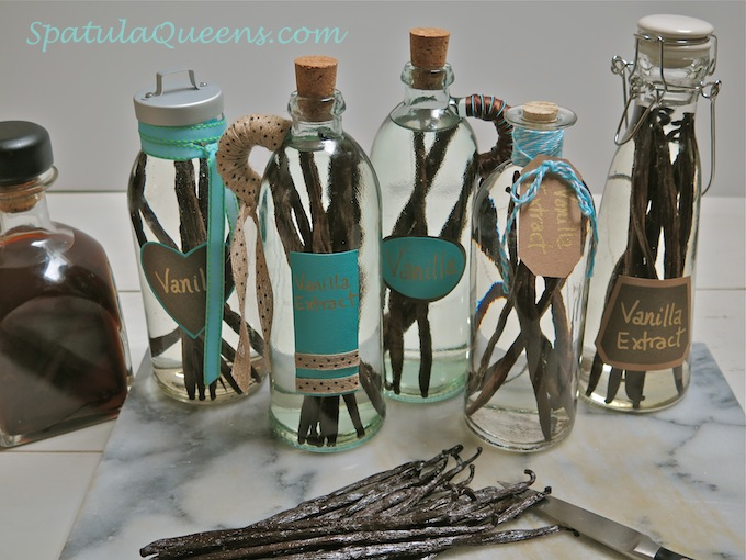Homemade Vanilla Extract - Using whole beans Day 1