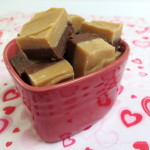 Homemade gifts - peanut butter fudge