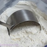 How to measure Flour - dip gently