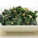 quick kale salad - tasty