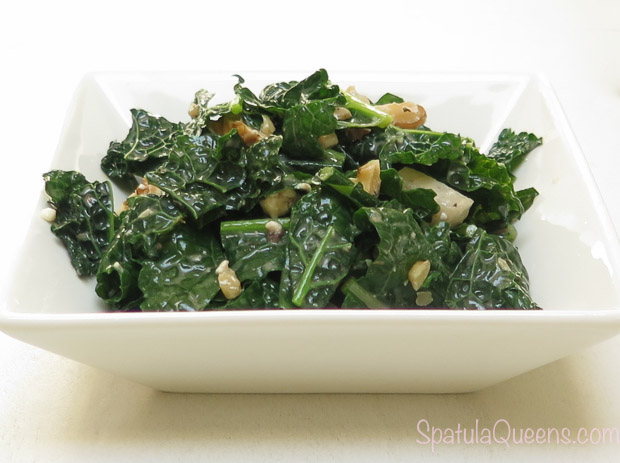 quick kale salad - tasty