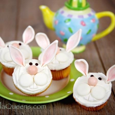 Funny Bunny Cupcakes