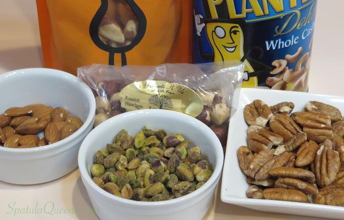 Caramel nut tart recipe: Leftover nuts SpatulaQueens.com
