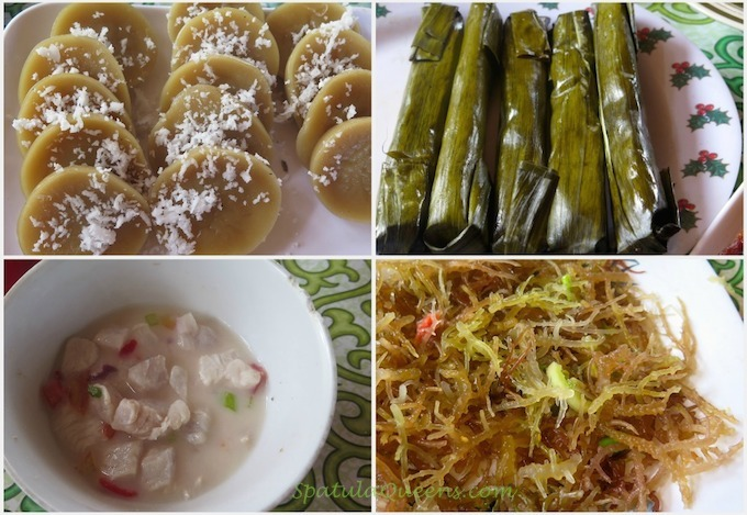 Kuchinta, budbud, kinilaw and guso at Malatapay Market