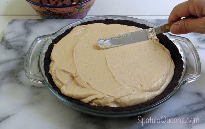 Peanut butter, cream cheese, cream