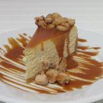 Plated dessert in Brazil Nut Cheesecake Recipe