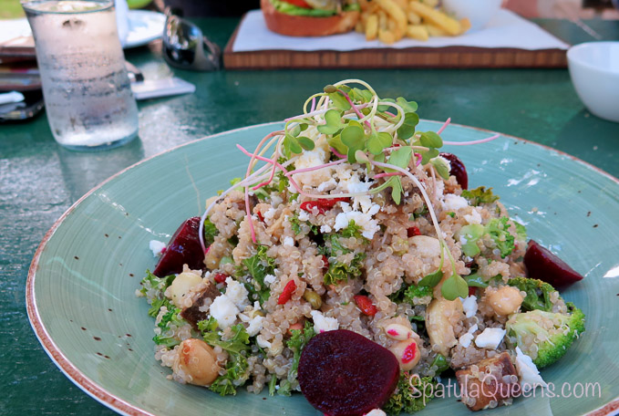Quinoa, kale, beets, feta - lunch at the vineyard - Road Trip South Africa