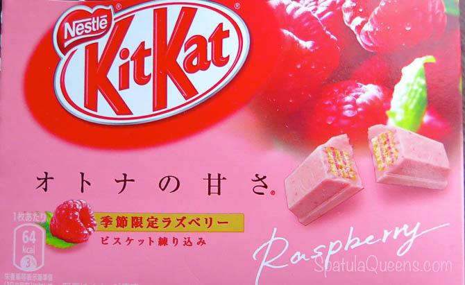 Raspberry Kit Kat in Japan