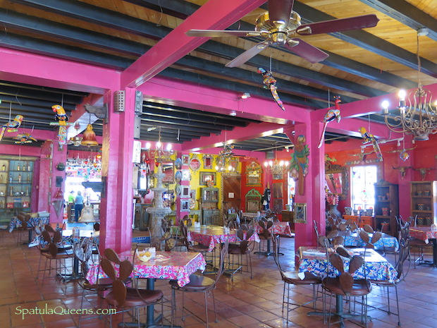 Road Trip Mexico: Restaurant at the Pink Store Palomas