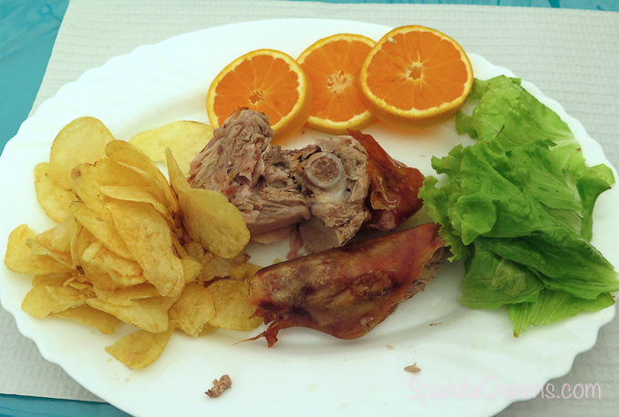 Road Trip: Azores - Roast Pork from Victor dos Leitoes food stall