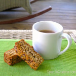 Crunchy, Crumbly Rusks with morning coffee