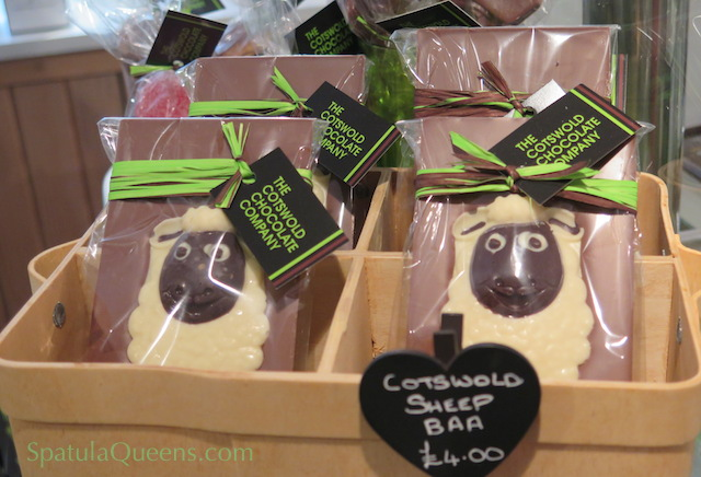 Sheep Baa's at the Cotswold Chocolate Company